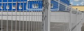 Заборы из сварных панелей