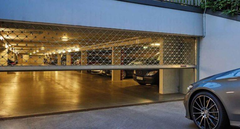Ворота Hörmann для коллективных гаражей