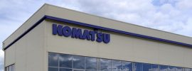 Завод Komatsu